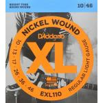 D`ADDARIO EXL140-8 NICKEL WOUND 8-STRING LIGHT TOP/HEAVY BOTTOM 10-74